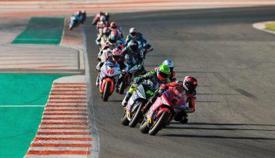 Simulacro Carrera MotoE, Circuito Ricardo Tormo Comunidad Valenciana