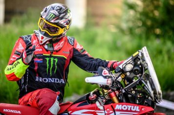Monster Energy Honda Team, Silk Way Rally