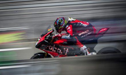 Las Ducati de Chaz Davies y Álvaro Bautista 1º y 3º en Laguna Seca WSBK