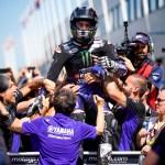 Viñales y Rossi ansiosos por llegar a Sachsenring a repetir victoria