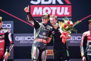 Jonathan Rea, Laguna Seca, Kawasaki Racing Team