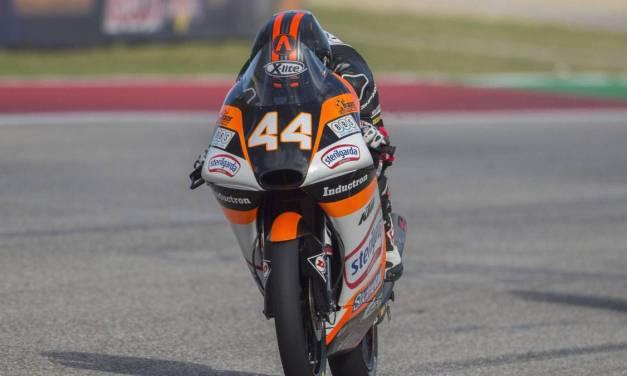 Victoria y liderato para Arón Canet en Brno carrera de Moto3