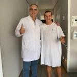 Gabri Rodrigo operado con éxito por el doctor Xavi Mir