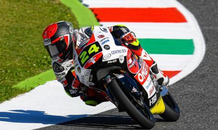 Victoria para Tatsuki Suzuki, del Sic58 Squadra Corse en Misano World Circuit Marco Simoncelli