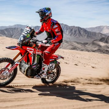 Ricky Brabec, Monster Energy Honda Team, Atacama Rally