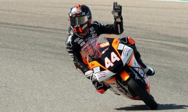 Victoria en Aragón para Arón Canet en Moto3