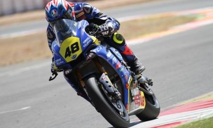 El Team Yamaha Stratos pone rumbo a Navarra con Federico Sandi y Pedro Nuno