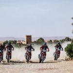 El nuevo Monster Energy Honda Team, en la presentación oficial de equipos HRC en el EICMA