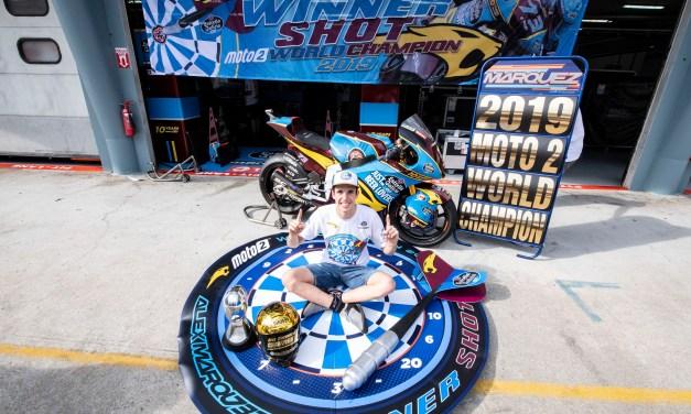 Álex Márquez es el flamante Campeón del Mundo de Moto2