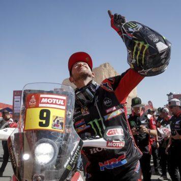Ricky Brabec, Monster Energy Honda Team, Rally Dakar 2020