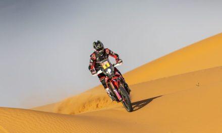 Ricky Brabec llega líder a la jornada de descanso tras ganar su segunda etapa del Dakar 2020. Barreda y Cornejo 'top 5'