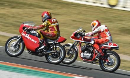 Carreras, exposiciones, y exhibiciones en el Racing Legends del Circuit Ricardo Tormo