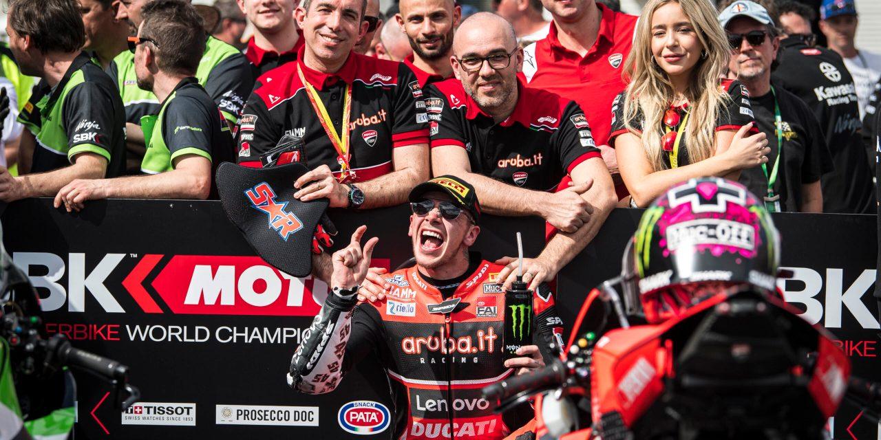 Tres podios para  Aruba.it Racing – Ducati en Phillip Island con Scott Redding ejerciendo de líder