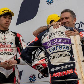 Albert Arenas, Aspar Team Gaviota, Moto3, Qatar