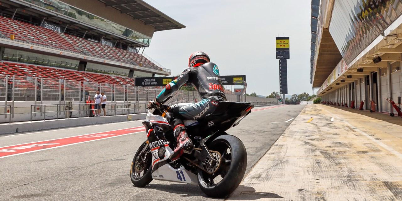 El Circuit reinicia puntualmente su actividad con pilotos mundialistas