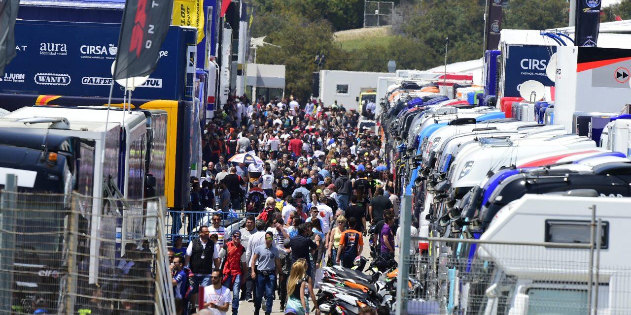 El Circuito de Jerez Ángel Nieto arranca el Mundial de MotoGP con 2 carreras seguidas y sin público