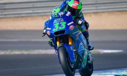 Gran victoria de Enea Bastianini en Jerez Moto2, doble podio Sky Racing Team VR46