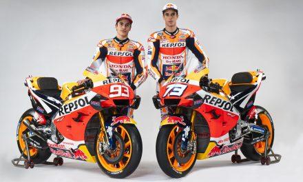El equipo Repsol Honda, listo para el inicio del Mundial 2020