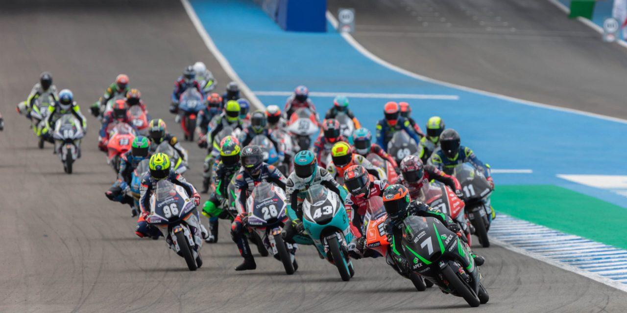Los españoles Izan Guevara y José Julián Garcia, se reparten las victorias en el Campeonato del Mundo Junior de Moto3