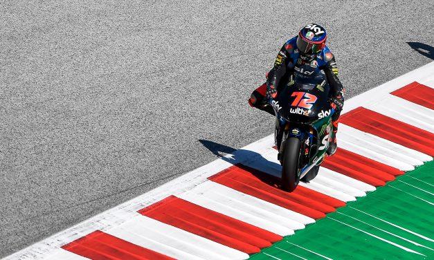 Marco Bezzecchi gana la segunda carrera para el Sky Racing Team VR46 en Austria