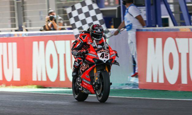 Scott Redding (Ducati) estrena en el Circuito de Jerez-Ángel Nieto su palmarés de victorias en el WorldSBK