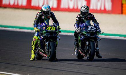 Viñales marca la tercera pole consecutiva en Misano y séptimo Valentino Rossi