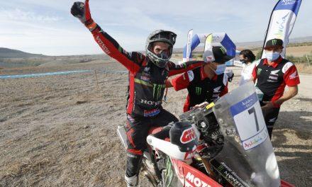 Gran triunfo de Kevin Benavides en el Andalucía Rally