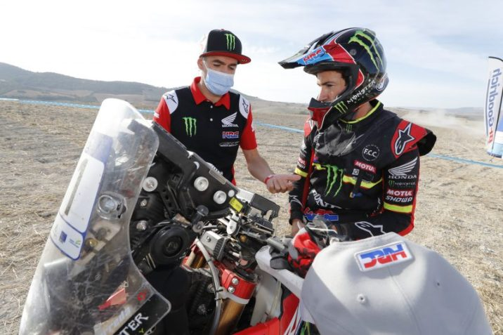 Joan Barreda, Monster Energy Honda Team, #AndalucíaRally, @yiyodorta, @teammotofans, #PacoCueto
