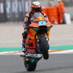 Victoria perfecta para Jorge Martín y Héctor Garzó segundo en Valencia Moto2