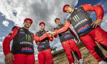 Dakar 2021: El Monster Energy Honda Team 2021, con el número 1