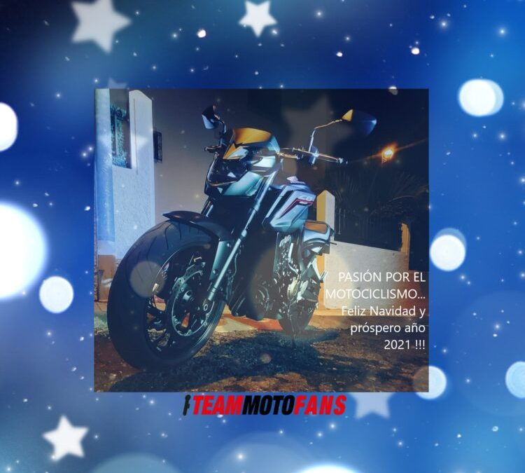 ¡¡ Feliz Navidad y Próspero Año Nuevo 2021 les desea Teammotofans.com !!