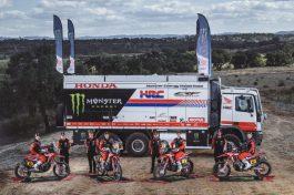 Monster Energy Honda Team, Dakar 2021