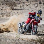 Brabec y Cornejo firman otro doblete del Monster Energy Honda Team en la séptima etapa. El chileno, nuevo líder del rally
