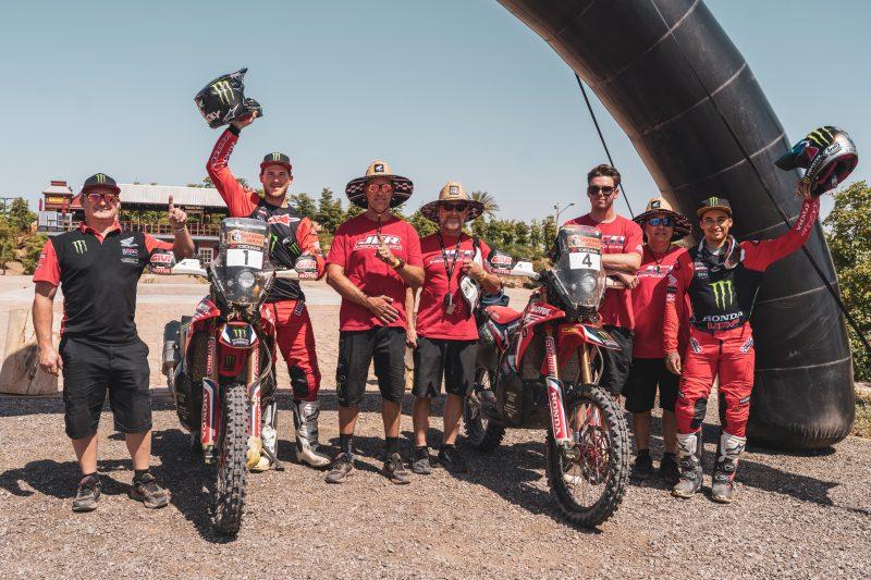 """El Monster Energy Honda Team en el Sonora Rally: """"misión cumplida"""", gana Ricky Brabec"""