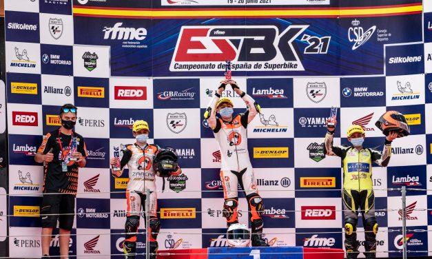 La Cuna de Campeones continúa sumando victorias y podios en el ESBK