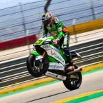 Calentando motores en las clasificatorias del FIM CEV Repsol. Alonso López el más rápido hoy en Motorland Aragón.