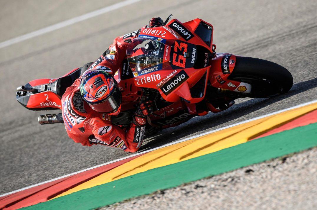 Pecco Bagnaia, Ducati Lenovo Team, Circuito de Motorland Aragón, MotoGP