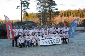 Team Motorsyklisten med støtteapparat