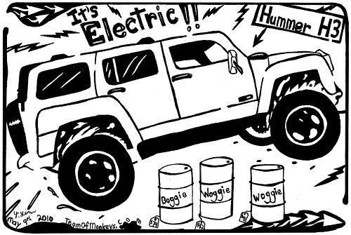 hummer hybrid electric