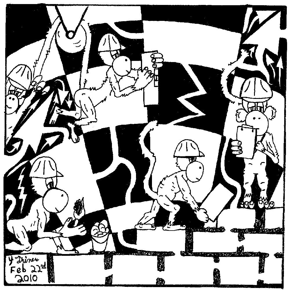 freemason monkeys - illuminati apes