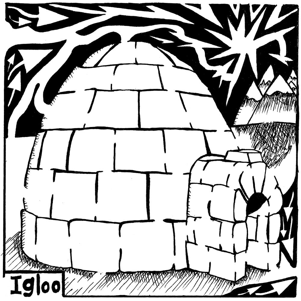 Igloo Maze by Yonatan Frimer