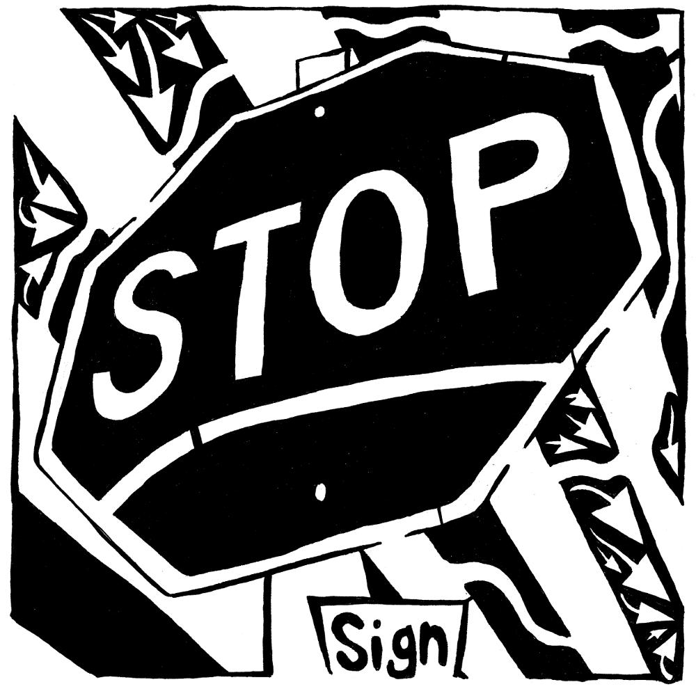 yonatan frimer stop sign maze