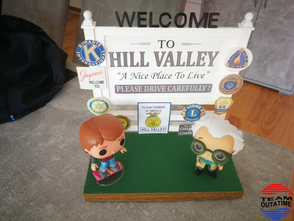 Hill Valley Schild