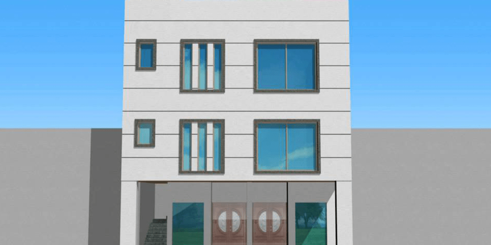 5 marla front elevation commercial plaza bahria town lahore