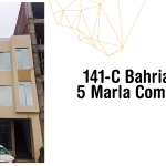 5 marla commercial plaza bahria town lahore grey structure