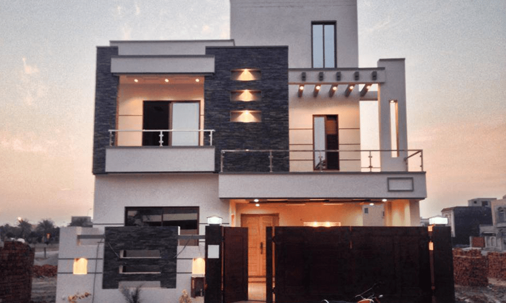 Front Elevation Of 7 Marla Houses : House designs in pakistan