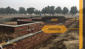 house foundations