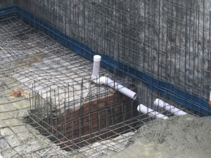 basement sewerage system
