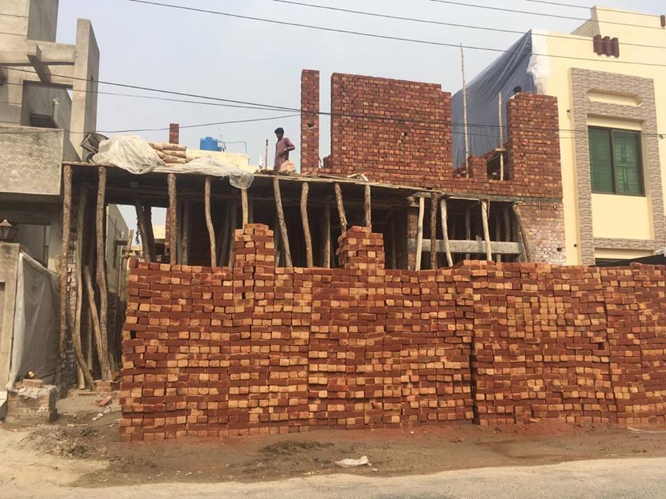 tariq garden under construction house