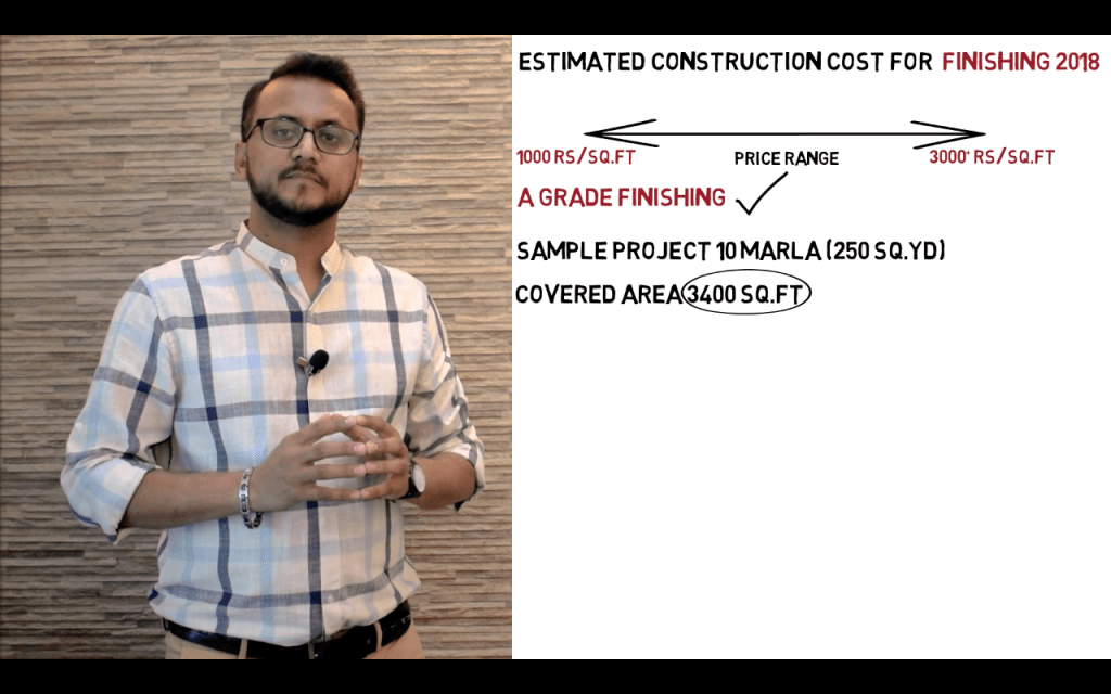 Cost for house construction LATEST finishing works 2019